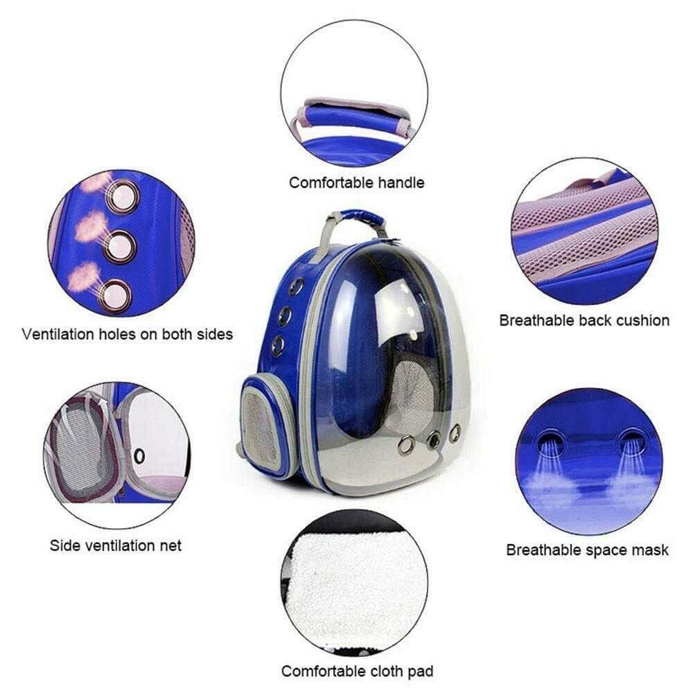 Features of Cat Bubble Backpack