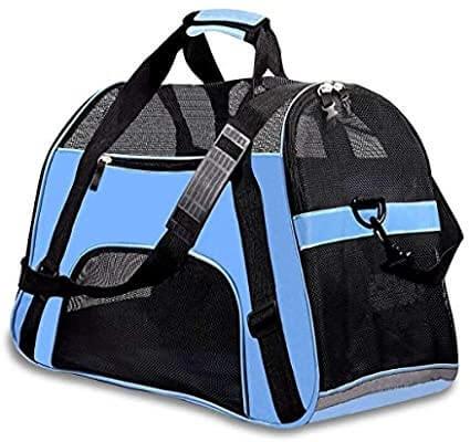 Blue Cat Carrier