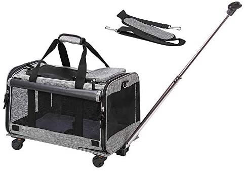 Cat Carrier with Wheels